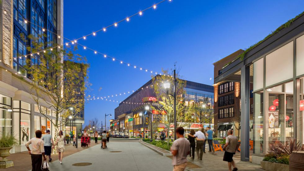 An example of a mixed use development similar to what we might see in Wichita, Kansas